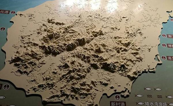 地貌地势模型